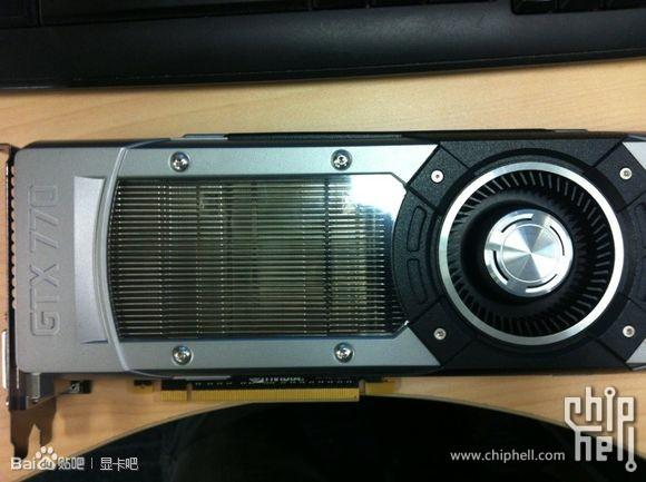 В Сети появились изображения референсных образцов 3D-карт Nvidia GeForce GTX 780 и GeForce GTX 770