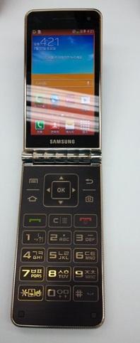 Samsung Galaxy Folder (SHV-E400) в Корее поступит продажу под названием Samsung Galaxy Golden