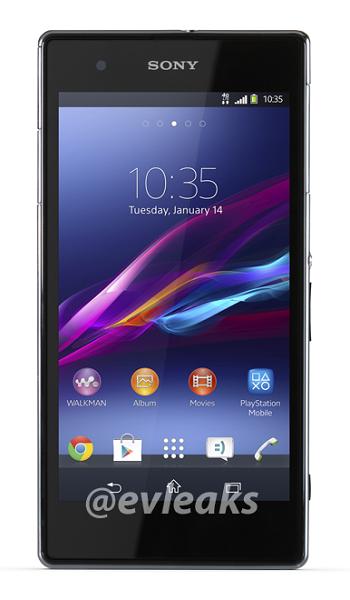 В Сети появилось изображение смартфона Sony Xperia Z1 S