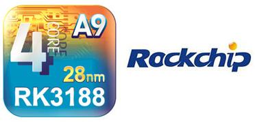 Ассортимент однокристальных систем RockChip пополнился моделью RK3188