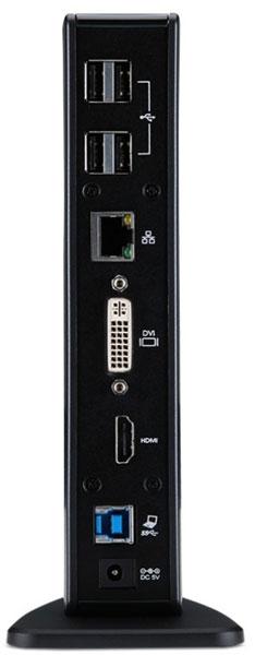В стыковочной станции Acer с интерфейсом USB 3.0 используется чипсет DisplayLink