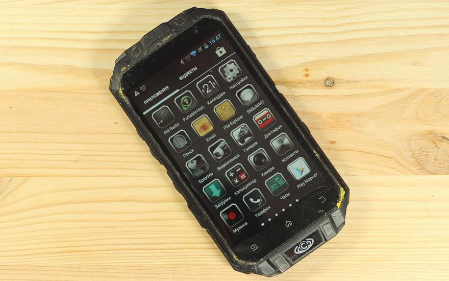 Видео: как мы разбивали защищенный смартфон Knight XV
