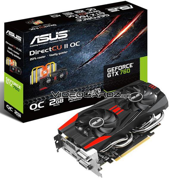Asus GeForce GTX 760 DirectCU II