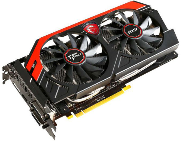 MSI GeForce GTX 760 Twin Frozr OC Gaming