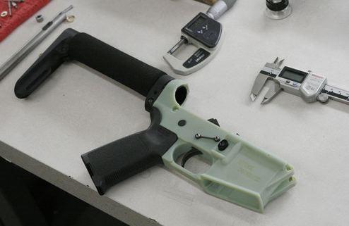 Винтовка Wiki Weapon: 12 деталей из термопластика на 3D принтере