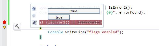 Визуализация «if» в отладчике Visual Studio от BugAid
