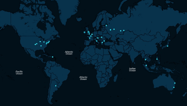 Визуализируем геоинформацию из логов на web карте в реальном времени