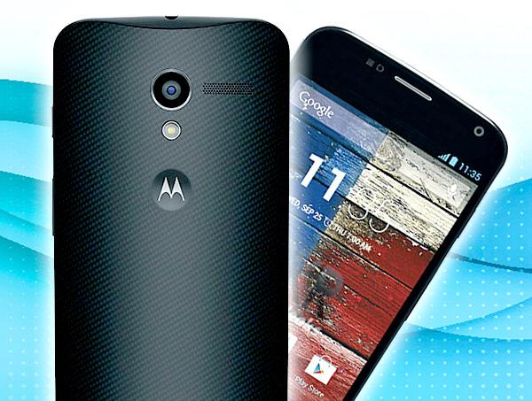 Смартфон Moto X не стали оснащать слотом для карт памяти