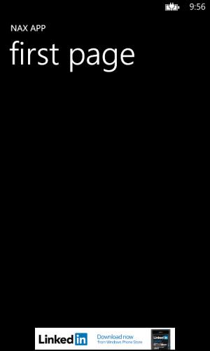 Внедрение рекламы в приложение для Windows Phone 8 при помощи NAX