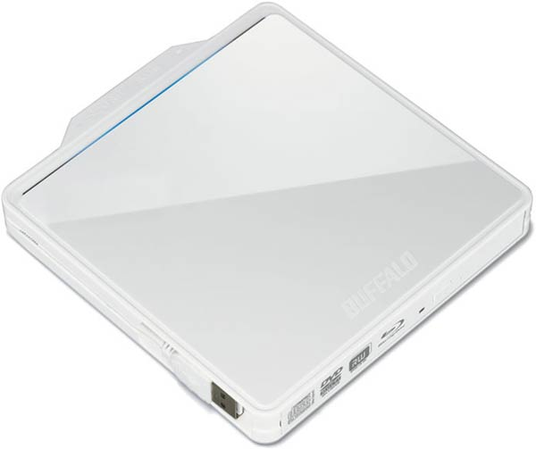 Внешние оптические приводы Buffalo BRXL-PC6VU2-C могут записывать диски Blu-ray XL