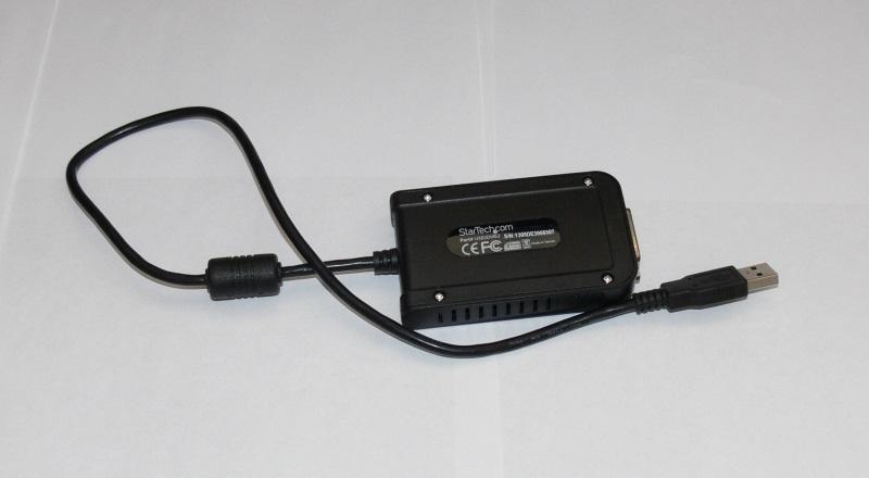 Внешняя USB видеокарта Startech USB2DVIE3