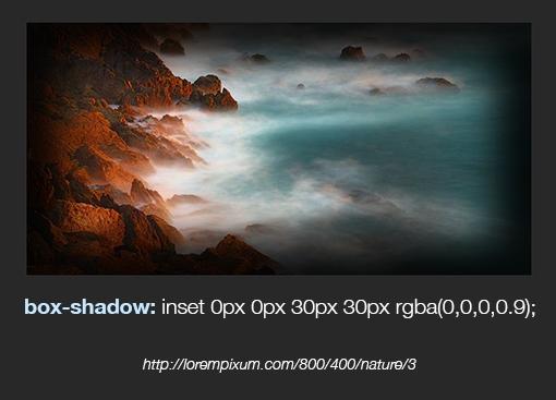 Внутренние тени в CSS