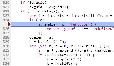 Внутренности jQuery. Поиск кода, выполняемого по событию
