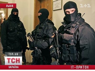 Во Львове правоохранители накрыли IT притон
