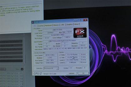 Во время IDF 2012 AMD показала в работе процессоры A10-5800K и FX-8350