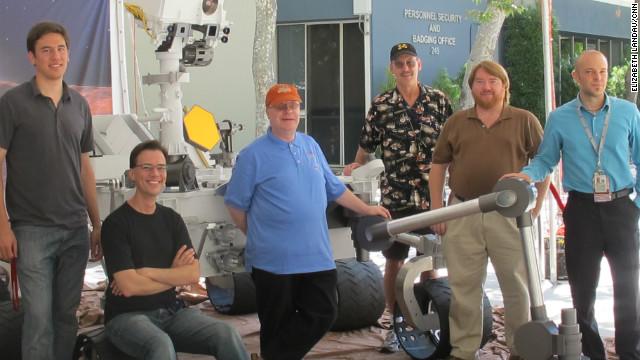 Водитель марсохода Curiosity отвечает Хабру
