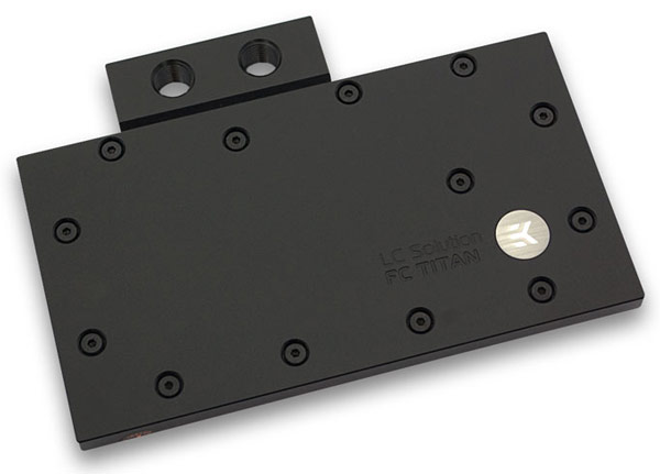 Водоблок EK Water Blocks EK-FC Titan предназначен для 3D-карт NVIDIA GeForce GTX Titan