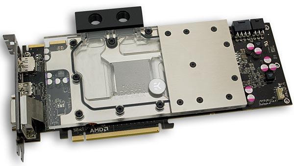 Водоблоки EK Water Blocks EK-FC R9-290X предназначены для 3D-карт AMD Radeon R9 290X референсного образца