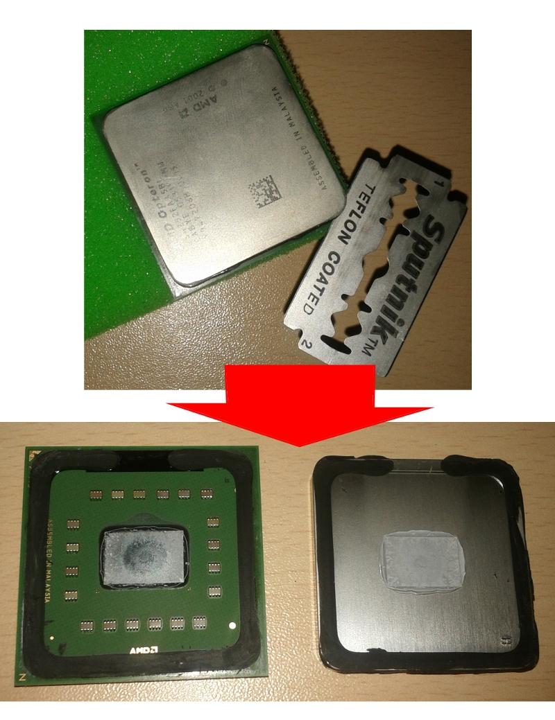 Восстанавливаем внутренности сервера Dual Opteron 252