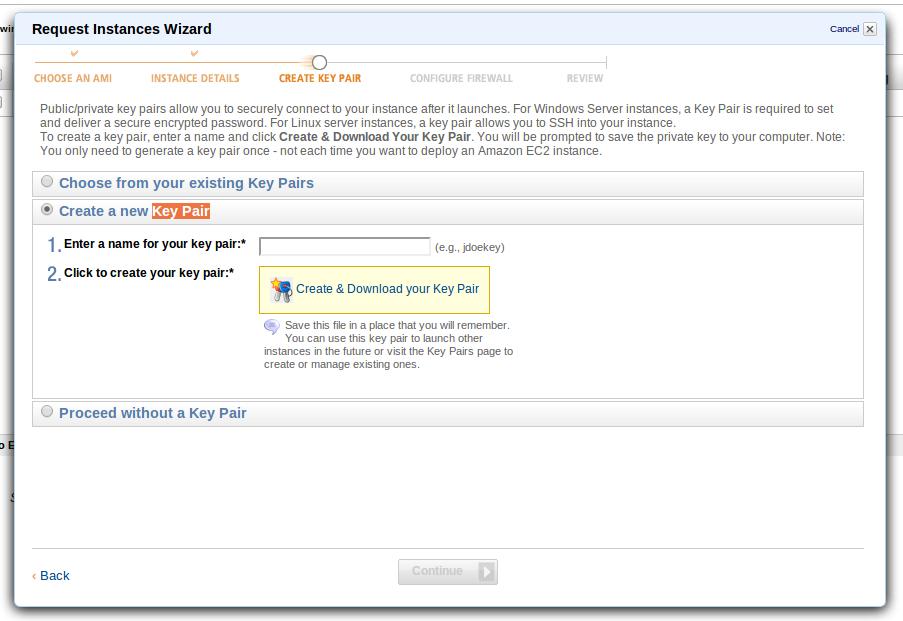Восстановление доступа к Amazon EC2 instance при потере pem файла