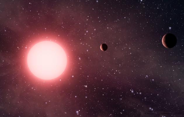 Впервые обнаружена планетарная система с диагональными орбитами планет