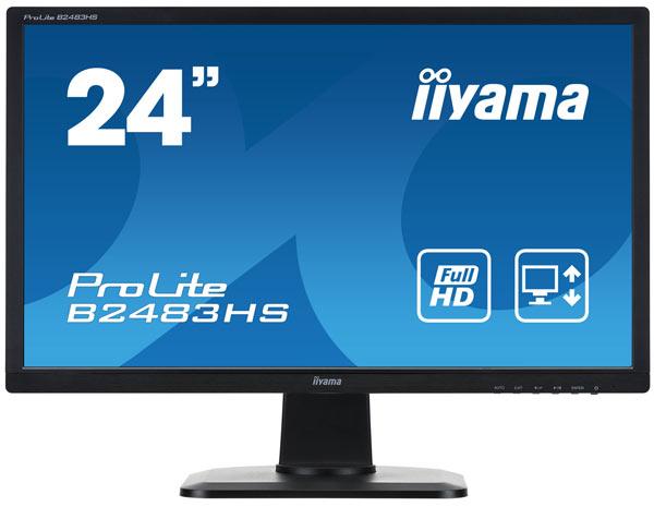 Монитор iiyama B2483HS-1 будет доступен на российском рынке в конце марта