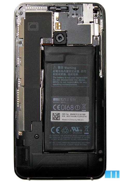 Вскрытие Meizu MX