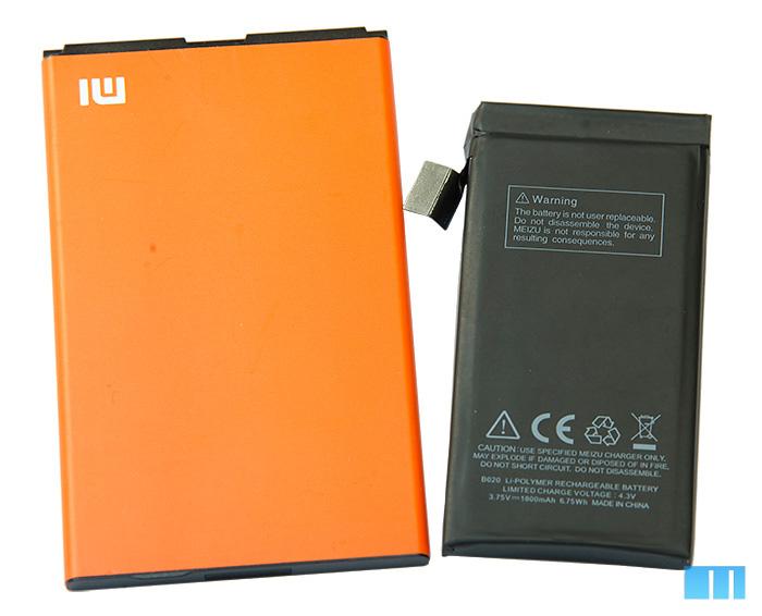 Вскрытие Meizu MX2