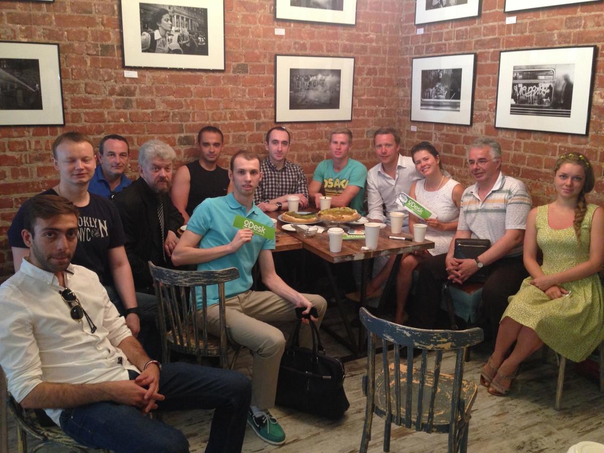 Встреча вице президента Elance oDesk и московских фрилансеров
