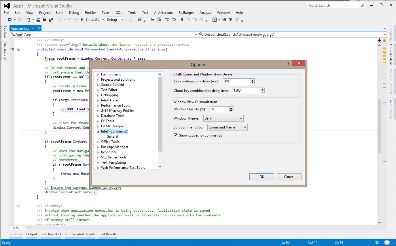 Встречайте IntelliCommand (Visual Studio 2010/2012 extension)