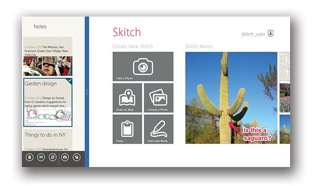 Встречайте Skitch для Windows Desktop и Skitch для Windows 8