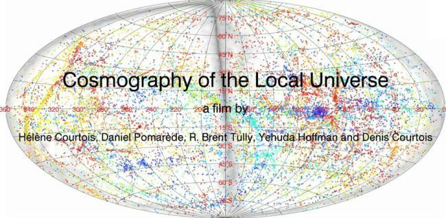 Вся наблюдаемая Вселенная в одном видео от ученых Лионского университета
