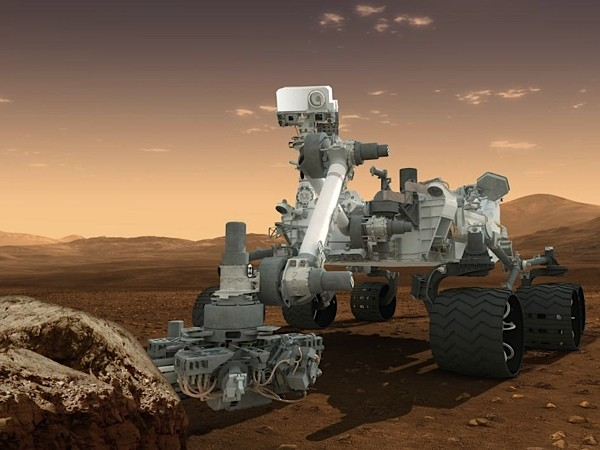 Вся работа Curiosity (281 сол) за 1 минуту (видео)