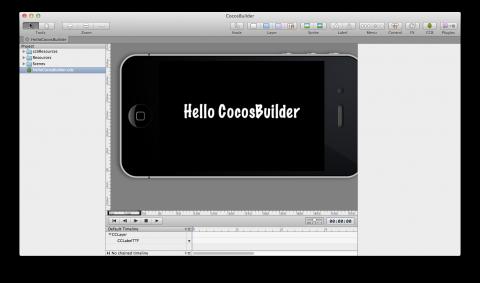 Введение в CocosBuilder
