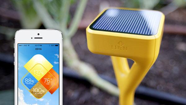 На выпуск системы «умного сада» Edyn Smart Garden System уже собрано 90 тысяч долларов