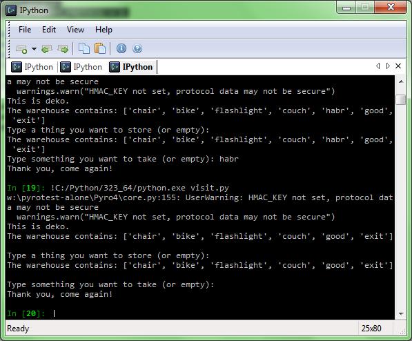 Взаимодействие интерпретаторов Python IronPython Jython