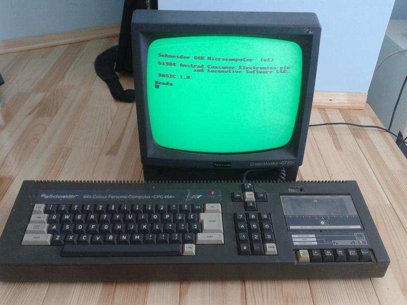 Взгляд в прошлое: Amstrad (Schneider) CPC 464