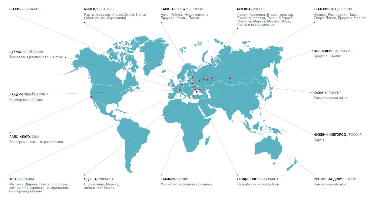 Яндекс открывает офис в разработки Берлине