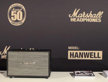 Юбилей Marshall отмечен выпуском активной акустической системы Hanwell