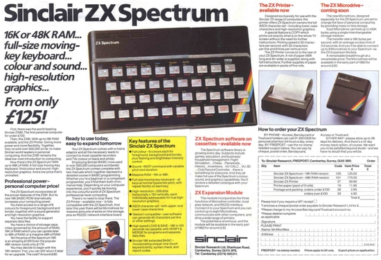 Юбилей ZX Spectrum: 30 лет