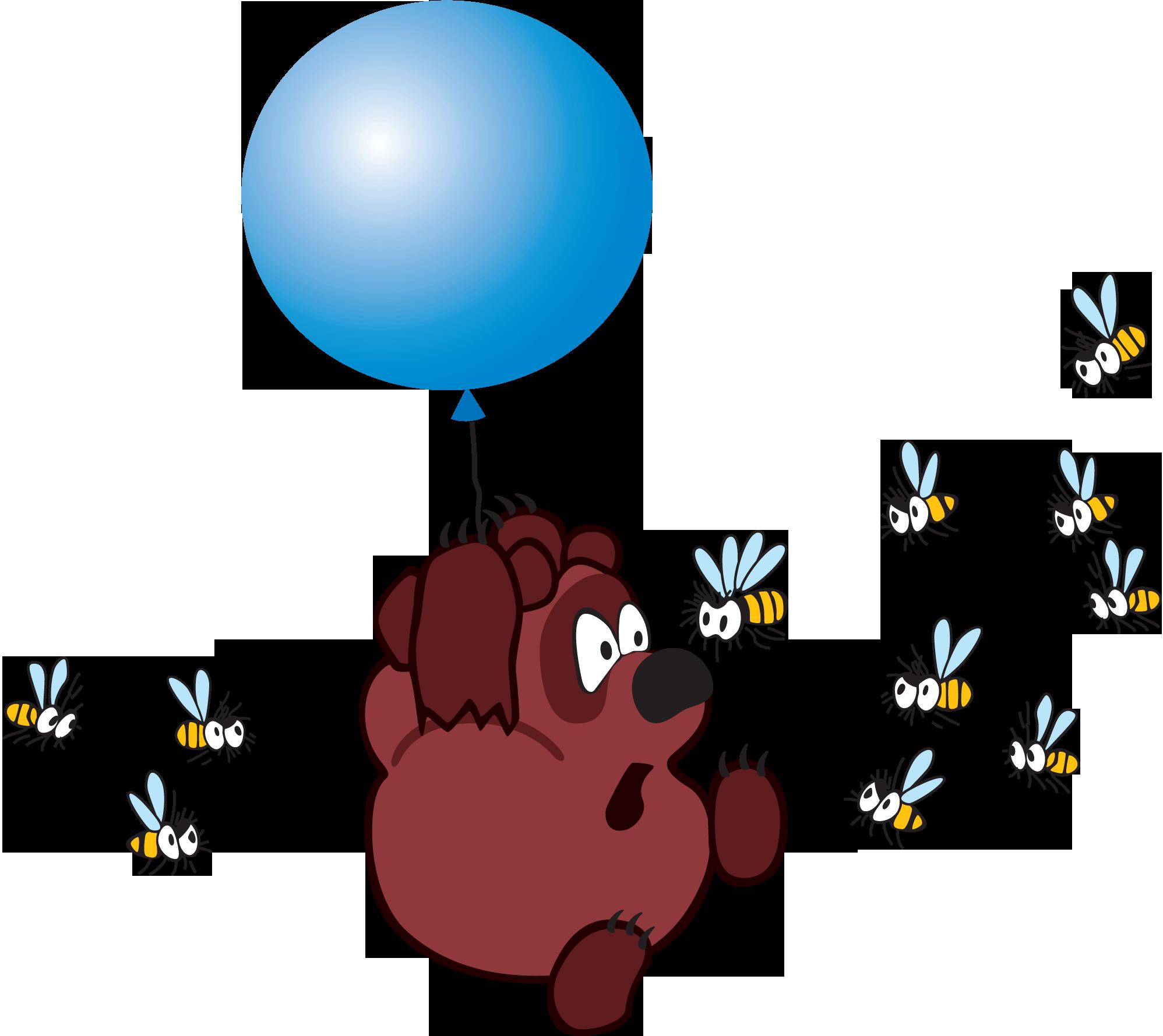 Фрагмент мультфильма Винни Пух