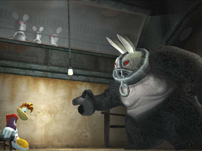 Rayman Raving Rabbids -- Ubisoft