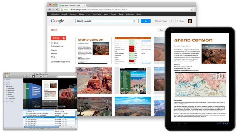 Запуск Google Drive