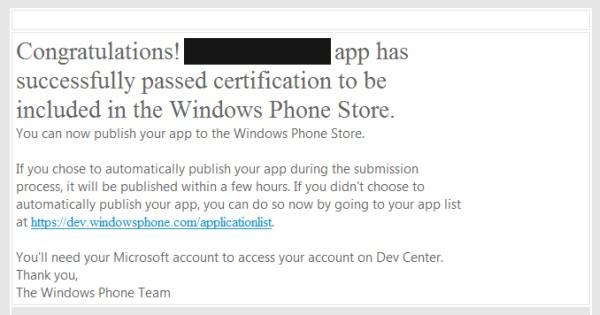 Запуск игры под Windows Phone 8