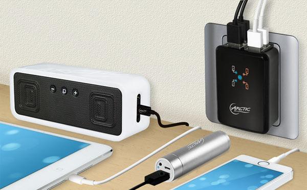 В зарядном устройстве Arctic Home Charger 4500 реализована защита от перегрузки и перегрева