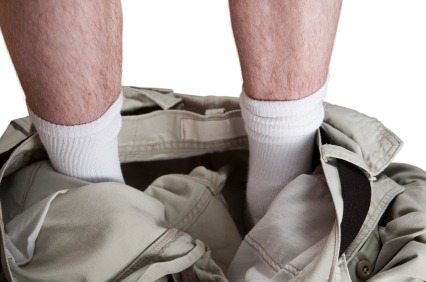 Завяжите шнурки и подтяните свои штаны!