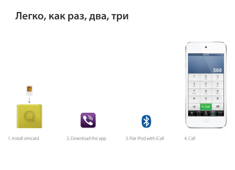 Как сделать из 4 айфона айпод